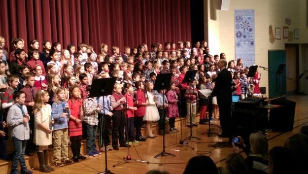 winter concert 3rd grade